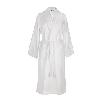 Line Bathrobe - White