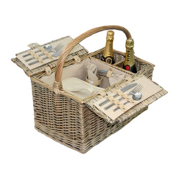 Lidded 2 Person Hamper
