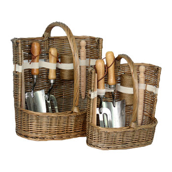 Garden Tool Basket - Set of 2