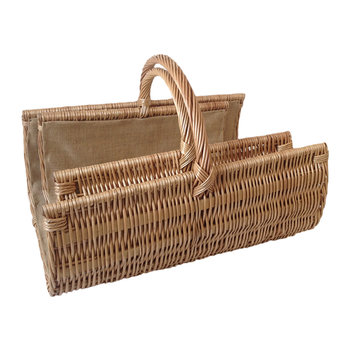 Scoop Open End Log Basket - Set of 2