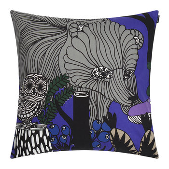 Veljekset Cushion Cover 50x50cm - Black/Blue