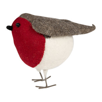 Classic Standing Robin Decorative Ornament