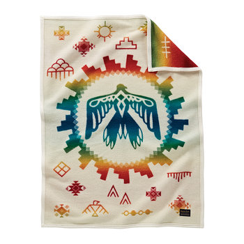 Muchacho Baby Blanket - Sunrise Eagle