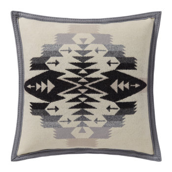 Tucson Feltbound Reversible Pillow - Ivory