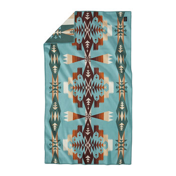 Tucson Saddle Blanket - Aqua