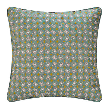 Latika Cushion - 45x45cm - Green