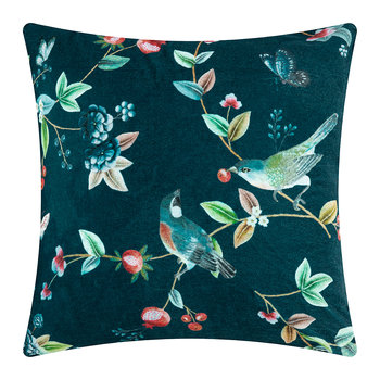 Birdy Cushion - 60x60cm - Blue
