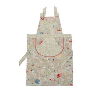 Hummingbirds Apron - Khaki