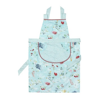 Hummingbirds Apron - Blue