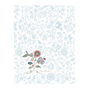 Spring to Life Tea Towel - Blue