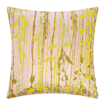 St Lucia Cushion - 45x45cm - Oyster/Ochre/Quince/Gold
