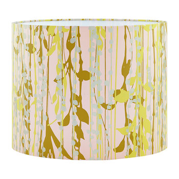 St Lucia Lamp Shade - Oyster/Ochre/Soft Gold - Medium