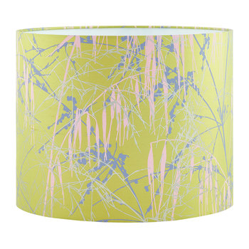 Three Grasses Lamp Shade - Quince/Soft Gray/Oyster/Soft Gold
