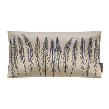 Deer Fern Cushion - 30x50cm - Pebble/Midnight