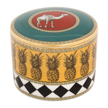 Totem Camel Cylindrical Box with Lid