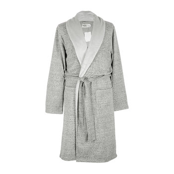 Men's Robinson Bathrobe - Gray Heather