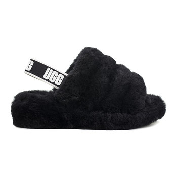 Women's Fluff Yeah Slide Slippers - Black