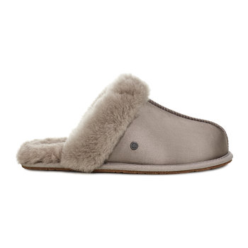 Women's Scuffette II Satin Slippers - Elephant