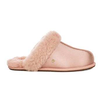 Women's Scuffette II Satin Slippers - Suntan