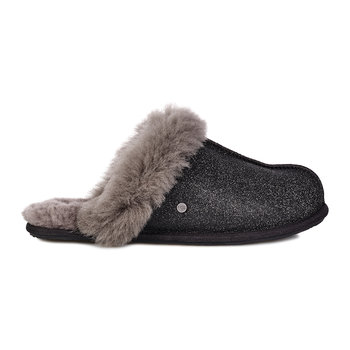 Women's Scuffette II Sparkle Slippers - Black