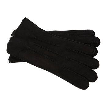 Men's Sheepskin 3 Point Gloves - Black