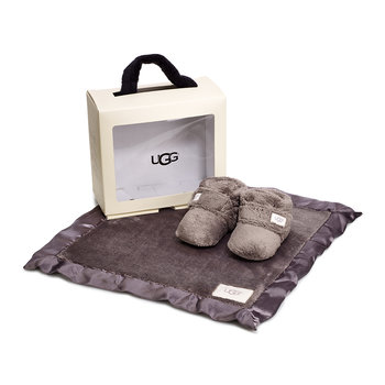 Bixbee & Lovey Infant Gift Set - Charcoal