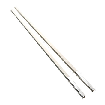 Uni Chopstick Set - White
