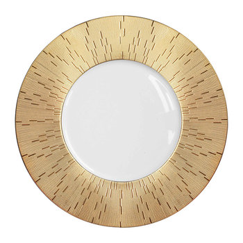 Infini Prestige Large Dinner Plate - Gold
