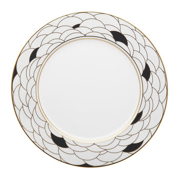 Art Deco Large Dinner Plate