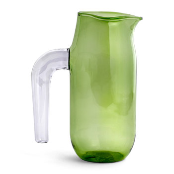 Jochen Holz Glass Jug - Green - Large