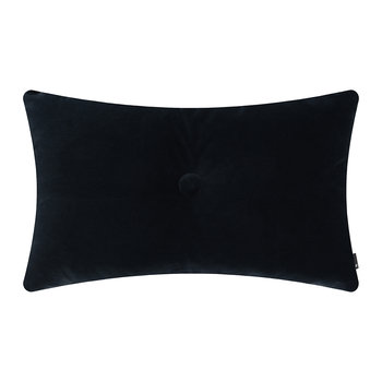 Velour Dot Pillow - 45x60cm - Navy