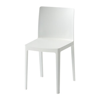 Elementaire Chair - Cream/White