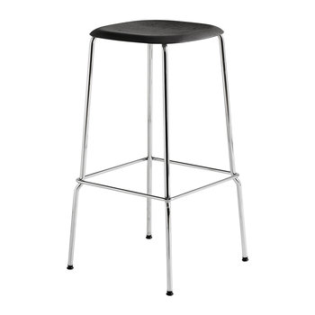 Soft Edge 30 Steel Bar Stool - High