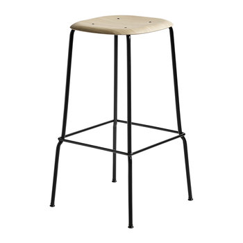 Soft Edge 30 Oak Bar Stool