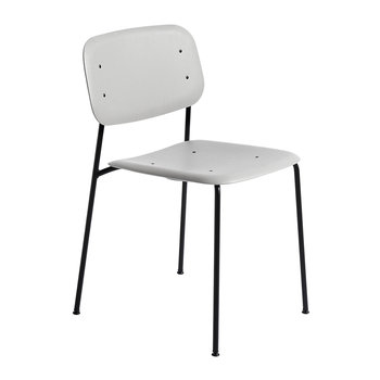 Soft Edge 10 Chair - Soft Grey/Black