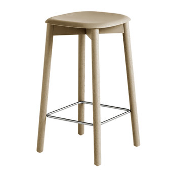 Soft Edge 32 Oak Stool