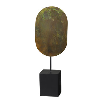 Asle Oval Decorative Ornament - Green