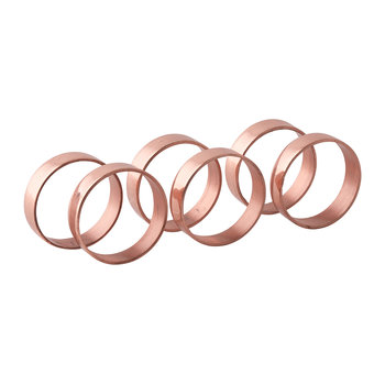 'Ring' Napkin Ring - Set of 6