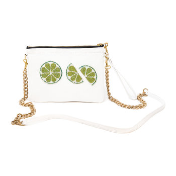 Limes Shoulder Bag - Small - Salt White