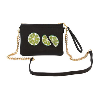 Limes Shoulder Bag - Small - Ink Black