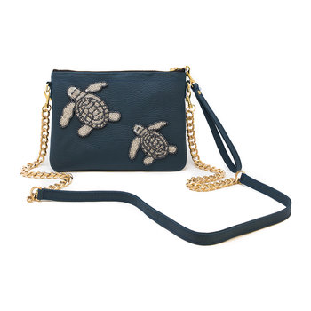 Turtles Shoulder Bag - Marine Blue