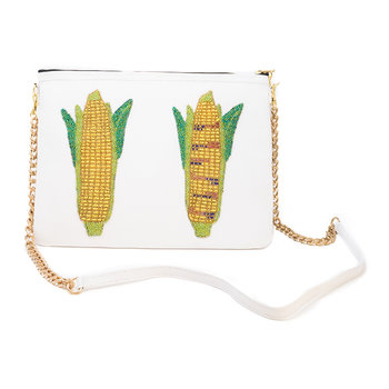 Praise The Maize Shoulder Bag - Large - Salt White