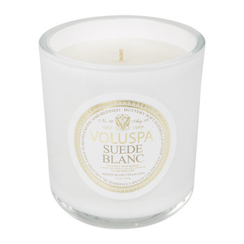 Maison Blanc Candle - Suede Blanc - 453g