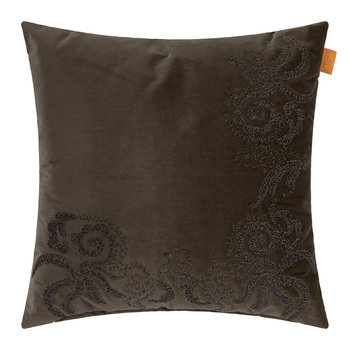 Mapaume Embroidered Cushion - 45x45cm - Beige