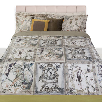 Saint Etienne Quilted Bedspread - Grey