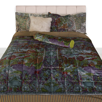 Tolosa Quilted Bedspread - Green