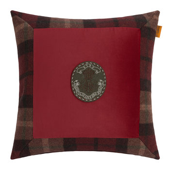 Nairn Cushion - 45x45cm - Red