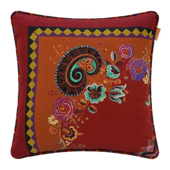 Toledo Cushion - 45x45cm - Red