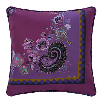 Toledo Cushion - 45x45cm - Purple