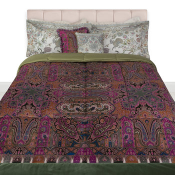 Ness Quilted Bedspread - Green